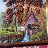 Картина с использованием натурального янтаря, фото №9