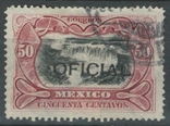 Ж15 Мексика 1910, служебная марка №61 (28 евро), фото №2