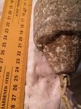 Металлический буйок из советского унитаза переделаный под строительный отвес, фото №3
