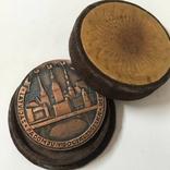 Настольная медаль Латвия, фото №2
