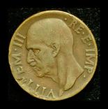 Италия 10 чентезими 1938, фото №3