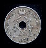 Бельгия 10 сантим 1929, фото №3
