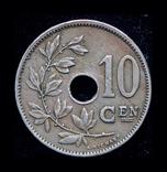 Бельгия 10 сантим 1929, фото №2
