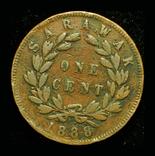Саравак 1 цент 1888, фото №2