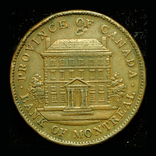 Канада Монреаль пенни 1842, фото №2