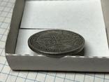 Пол кроны 1928 года Великобритания серебро, фото №5