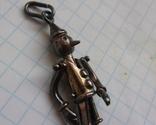 Кулон Пиноккио Италия., фото №3