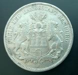 3 марки 1909 Гамбург, фото №2