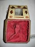 Шкатулка самодельная, сшитая вручную из открыток., фото №7