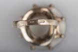 Срібний гарнітур, 875 проба, геліотіс, мозайка, фото №11