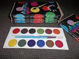 Краски 12 цветов.4 упаковки., фото №3