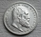 3 марки 1912 г., Вюртемберг, серебро, фото №6