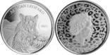 5 Седи 2020 Африканский леопард (Серебро 0.999, 31.1г) 1oz, Гана Унция, фото №2
