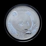 10 Юань 2018 Панда (Серебро 0.999, 30г), Китай в Коробке, фото №4