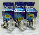 3шт Светодиодные лампочки Brille LED E27 новые, фото №2
