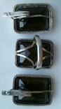Серьги и кольцо.Серебряный набор., фото №4