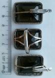 Серьги и кольцо.Серебряный набор., фото №5