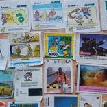 Вкладыши 1993-1998годов, 64 шт, фото №4
