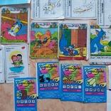 Вкладыши 1993-1998годов, 64 шт, фото №10