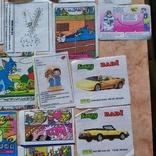 Вкладыши 1993-1998годов, 64 шт, фото №11