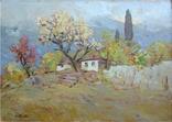 Бакаев С.И. (1922-2010) Слива цветет. 1981., фото №2