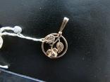 Кулон роза 1.77 грамма золота 583`, фото №2