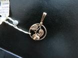 Кулон роза 1.77 грамма золота 583`, фото №6