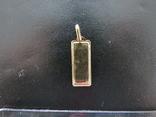 Иконка Богородица золото 0,95 грамм 585`, фото №5