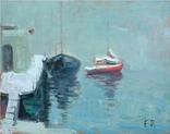 Волобуев Е.В. (1912-2002) Зима в яхт-клубе. Заключение Цитовича., фото №2