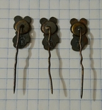 Мишка олимпийский 3 штуки, фото №4