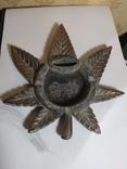 Пепельница лист. 18 х 18 см., фото №3