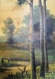 Картина P. Rogozinzki, 1909 год, фото №8