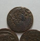 61. Солиды. Боратинки 1661 года. Ян ІІ Казимир Ваза ( 3 штуки )., фото №5