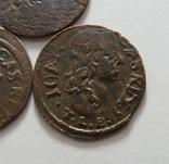 61. Солиды. Боратинки 1661 года. Ян ІІ Казимир Ваза ( 3 штуки )., фото №6