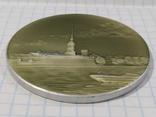 Настольная медаль Петропавловская крепость Ленинград, фото №4