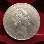 Таллер Саксония 1842р., фото №2