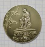 Настольная медаль Памятник И А Крылову в Летнем саду, фото №2