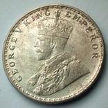 Британская Индия 1 рупия 1919 г., фото №5