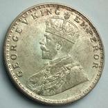 Британская Индия 1 рупия 1919 г., фото №6