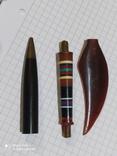 Ручка с янтарём., фото №6
