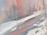 Зимний пейзаж, художник Цибере В., 1998 г. (Закарпатская школа), фото №4