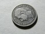 50 сентимов 1880 Испания, серебро, фото №7