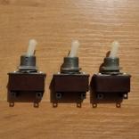 Тумблеры, переключатели Т2 , СССР, 3 штуки, фото №3