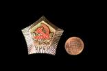 Настольные медали с гербом УССР (УРСР). 100 штук. 1980-е., фото №3