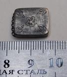 Окончание браслета серебро, фото №6