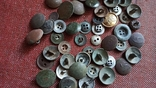 Старые разные пуговицы., фото №3