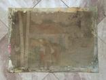 Народная картина 72.5 х 52.5 см, фото №3
