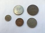 5 монет Швеції ХХ століття, фото №3