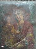 № 2405 Металлическая иконка Богоматери с утратой, фото №2
