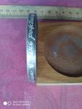 № 2726 Памятная медаль 100 лет сварки с дарственной надписью на гурте, фото №4